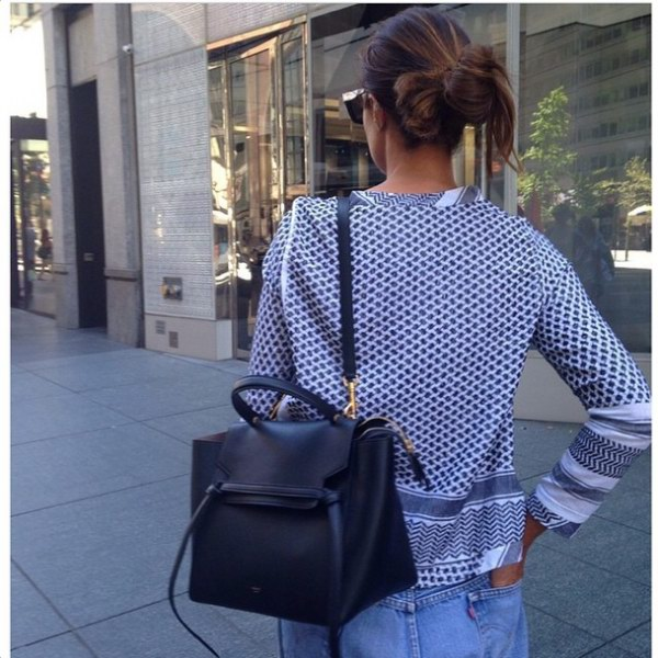 Would you get the celine belt bag in black or grey? - Popteen Magazine - celine belt bag black